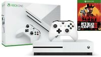 Xbox One S 1TB Console bundle with Red Dead Redemption 2 Brand New