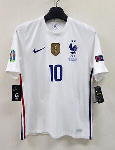 2020 FRANCE Away S/S No.10 MBAPPE EURO 20 vs Hungary 20-21 jersey shirt