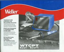 Weller Wtcpt 60 Watts120v Temperature Controlled Soldering Station New In Box