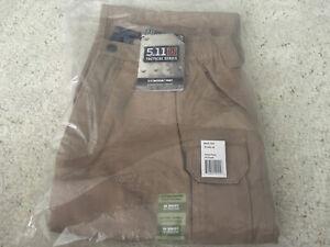 5.11 Tactical Pant - Coyote - Inseam 34 - Waist 34 Original Tactical Pant NEW