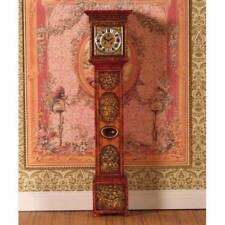 Ornately Carved Grandfather Clock Doll House, 1.12th Scale, Miniature, Clock.