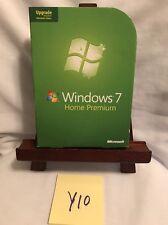 Microsoft Windows 7 Home Premium Upgrade 32 Bit and 64 Bit DVDs! FREE SHIPPING!