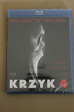 Krzyk 4 Blu-ray  POLISH RELEASE (English subtitles)