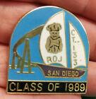 ROYAL ORDER OF JESTERS lapel pin, San Diego California, 1989, ROJ court 133
