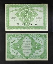 French Indochina 1942, 5 Cents UNC k#88a