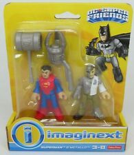 New Fisher-Price Imaginext DC Super Friends Superman & Metallo 2-Pack Figures