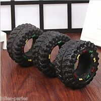 Hot Animal Sounds Tire Pet Dog Toy Puppy Cat Chews Squeaky Squeaker Rubber Toys