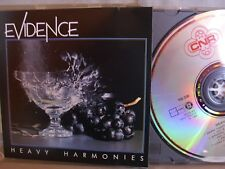 Evidence- Heavy Harmonies- CNR 1985- Made in France- No Barcode