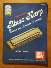 Blues Harp for Diatonic & Chromatic Harmonica, Book with Cd, Dvd