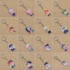 Kpop Star BTS Porte-clé Acrylique Keyring Sac Accessories BangTan Boys Fans Gift