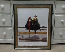 Road To Nowhere by Jack Vettriano Large Deluxe Framed Art Print Romantic