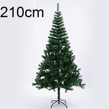 Arbol de Navidad 2 10 m / 210 cm pino verde luz Led 100 luces Super oferta