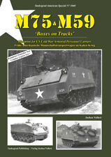 "3040 US M75 - M59 ""Boxes on Tracks"", Tankograd NEU 6/20 VORBESTELLUNG! &"