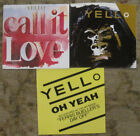 LOT of 3 YELLO 45rpm Picture Sleeves (only)