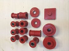 Triumph Spitfire/ Herald Rear Bush set red Polyurethane