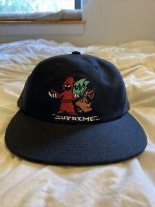 Supreme Shadow 6-Panel Black Hat FW19 Retail $44