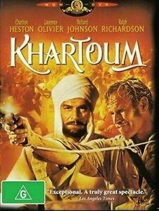 Khartoum DVD Charlton Heston New and Sealed Australian Release
