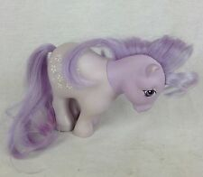 Vintage G1 My Little Pony Blossom Purple Flowers - Great for OOAK or Crafts