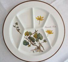 "Villeroy & Boch, Fondueteller Botanica ""Ranunculus Ficaria"", neuwertig, mehrere"