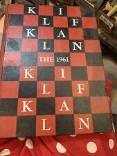 1961 Klif-Klan Yearbook, Chatanooga, TN