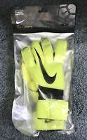 NWT Nike GK Grip 3 Goalkeeper Glove GS0360-702 (Volt/Black) Size 9