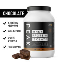 PEAK WPI Protein Powder. Australian Made and Owned. AUS MELBOURNE STOCK