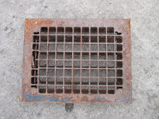 Floor Grate Architectural Salvage Antique Louvers Works Cast Metal Squares