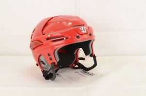 Warrior Krown 360 Ice Hockey Helmet Red Size Small 6 1/2 - 7 1/4  (1105)
