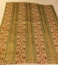 Vintage French Silk Linen Fabric - 27� X 24�