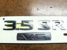 "NEW OEM NISSAN ALTIMA REAR TRUNK EMBLEM SET ""3.5"" ""SR"" AND ""V6"" LOGOS"