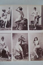 CALAVAS ETUDE DE NUS  TIRAGE ALBUMINE ALBUMEN VINTAGE PRINT 1880 PEINTURE ref12