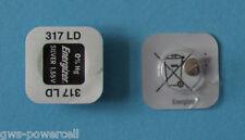 4 X Energizer montres Batterie 317 v317 sr516sw sr516 SW sr62 sr62sw 12 mAh 1,55 V