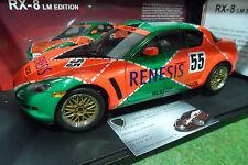 MAZDA RX-8 LE MANS # 55 RENESIS au 1/18 AUTOart 80443 voiture miniature auto art