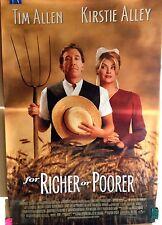 For Richer or Poorer 1997 Original Universal Studios One Sheet Movie Poster