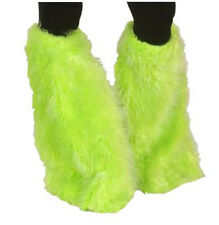 Deguisement pattes d'elephant fourrure vert vertes fluo disco patte costume 1980