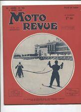 Moto Revue N°782 ; 4 mars  1938  : salon de la moto à Berlin et Milan