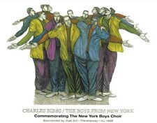 The Boys from New York Limited Edition 1000 Ethnic Artwork by Charles Bibbs
