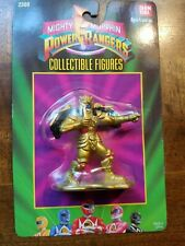 New listing Mighty Morphin Power Rangers Gold Alien Collectible Action Figure Bandai Mmpr