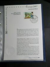 NOTICE FDC DOCUMENT 1° JOUR 2007 EUROPA CEPT, SCOUTISME