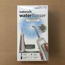 Waterpik Cordless Freedom Water Flosser, WF-03, White (Brand New in Box)
