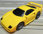 Para H0 Coche slot Racing Maqueta de tren Ferrari F 40 con Tyco Motor 2 Lijadora