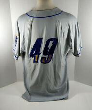 2019 Omaha Storm Chasers Brian Flynn #49 Game Used Grey Jersey