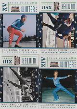 2012 Panini Americana Lot of 4 Winter Olympics Inserts