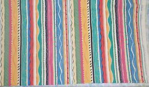 Collier Campbell Fabric Cordelia Stripe New Cotton 167cm x 144cm