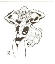 Titania Pencil Commission - 2005 Signed art by Chad Spilker