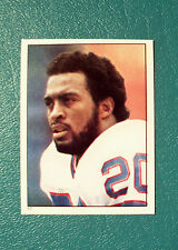 VTG 1981 TOPPS COLLECTIBLE FOOTBALL STICKER #17 BUFFALO BILLS RB JOE CRIBBS