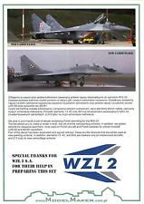 "Model Maker Decals 1/72 MIKOYAN MiG-29 ""FULCRUM"" Polish Air Force Stencils"