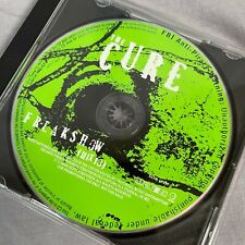 The Cure Freakshow Promo Single CD 2008 Geffen Records Robert Smith