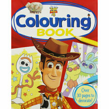 Disney Pixar Toy Story 4 Colouring Book (Paperback), Children's Books, Brand New