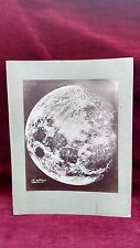 FOTO DELLA LUNA DA NEW YORK  THE MOON FROM NEW YORK - Lewis M. Rutherford 1865